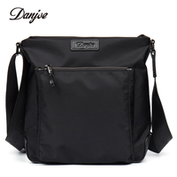 DANJUE Crossbody Bag Male High Quality Oxford Cloth Man Messenger Bag Waterproof Daily Bag Vertical Casual