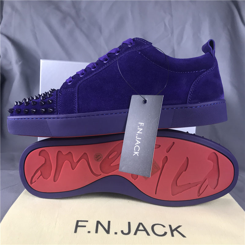 Herren FNJACK Wildleder Louis Junior Studed Turnschuhe Fashion Brand - Herrenschuhe - Foto 5