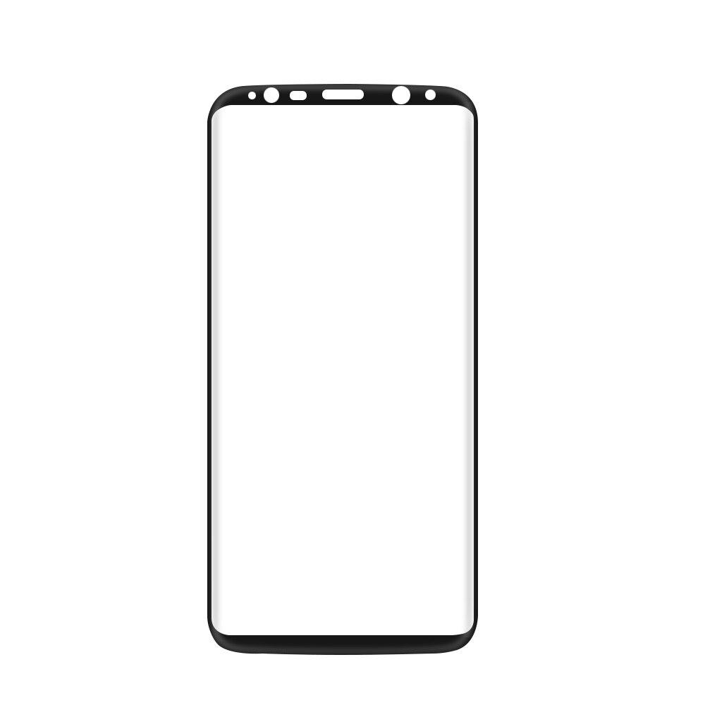 imágenes para 5 Unids/lote S 8 GalaxyS8 3D Curvada de Vidrio templado Para La Cobertura Total Samsung Galaxy S6 S7 S8 Borde Plus Protector de Pantalla 9 H Película