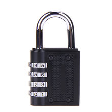 4 Digit Password padlock Combination Zinc Alloy Security Lock Suitcase Luggage Coded Lock Cupboard Cabinet Locker Padlock(China)