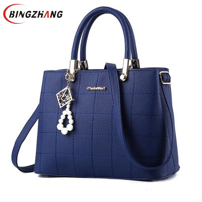 2018 Women handbags Ladies Leather Commuter Office Ring tote bags High Quality Womens shouder bags Famous Ladys Flap bags L8-50 ...