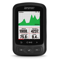 iGPSPORT Bike Computer Cycling GPS Computer IGS618 ANT+ Function with Road Map Navigation Cycling Bicycle Odometer with Mount