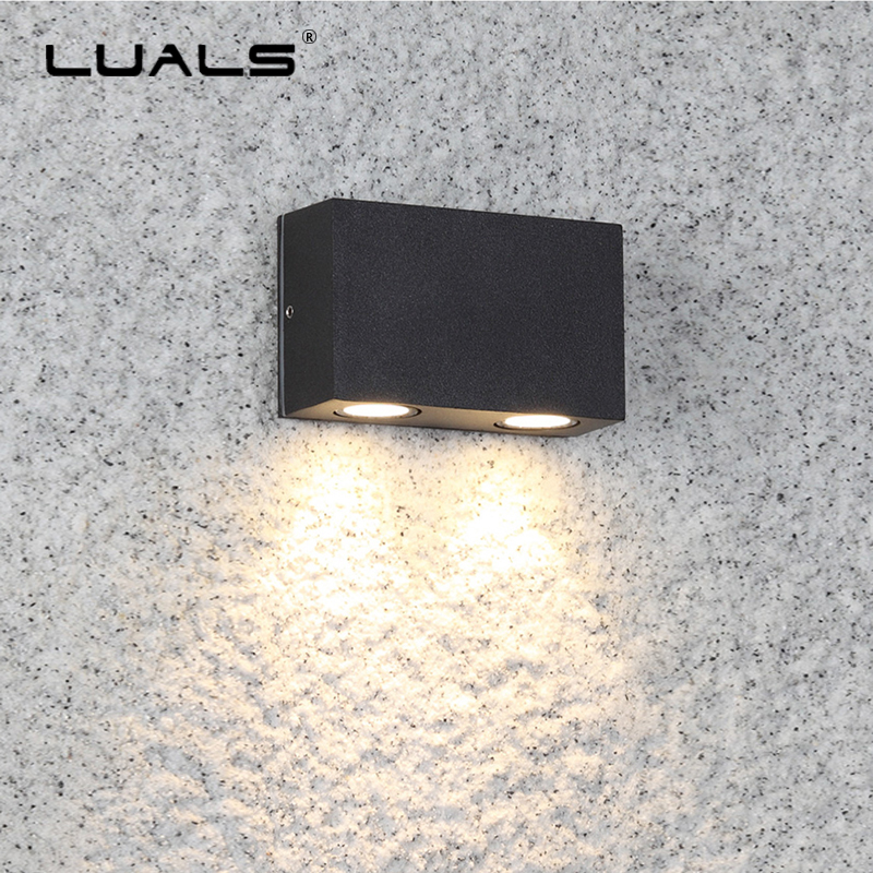 Outdoor Wall Lamp Simple Modern LED Wall Lamps Waterproof Garden Wall Light Luxury Home Lighting Creativity Porch Lights Fixture modern wall lamp outdoor waterproof led wall light garden wall lamps cast aluminum porch lights luxury home art deco lighting