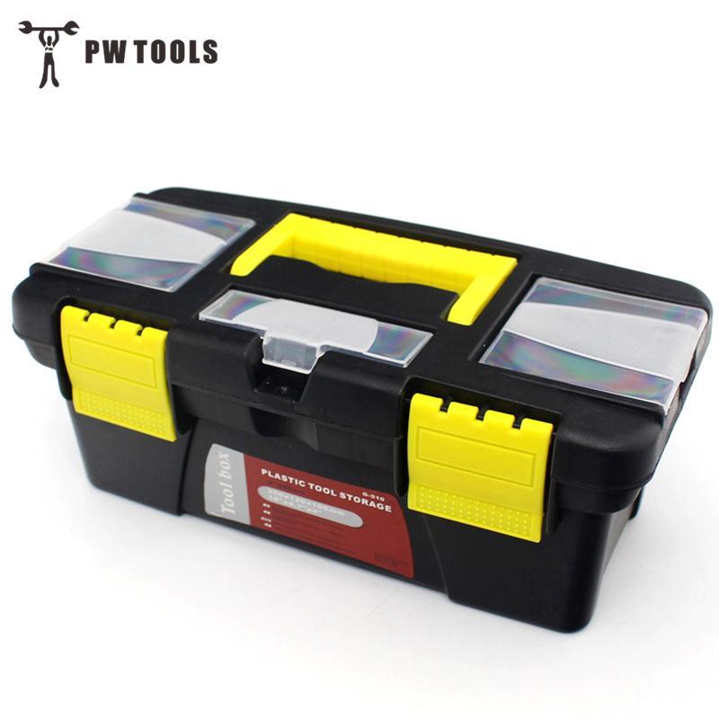 10-zoll Multifunktionale Instrument Teile Hardware Werkzeug Lagerung Box Home Fahrzeug Wartung Hand-gehalten Kunst Hardware Lagerung Box