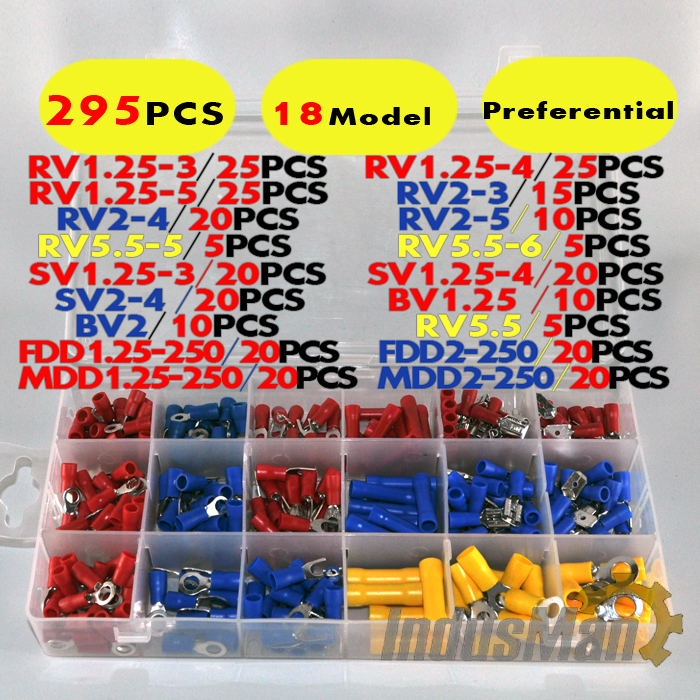 295pcs Assorted Full Insulated...