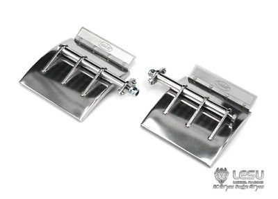 LESU Metal Mud Guard Fenders For 1/14 Tmy   King RC Tractor Truck Model Car Upgraded Parts TH04729