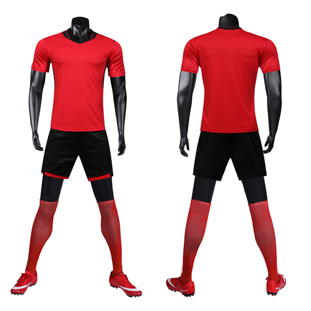 Men's Luxury Training Soccer Jersey Set