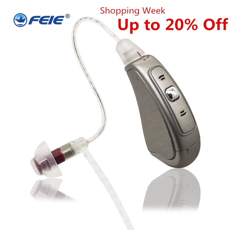 Earphone Hearing Aid Receiver Speaker for Old People Hearing Loss Deafness Hard of Hearing MY-19 Digital Headphone Free Shipping ear listen up my 13 earphone deafs digital powerful hearing aid for severe hearing aid trimmer voice free shipping