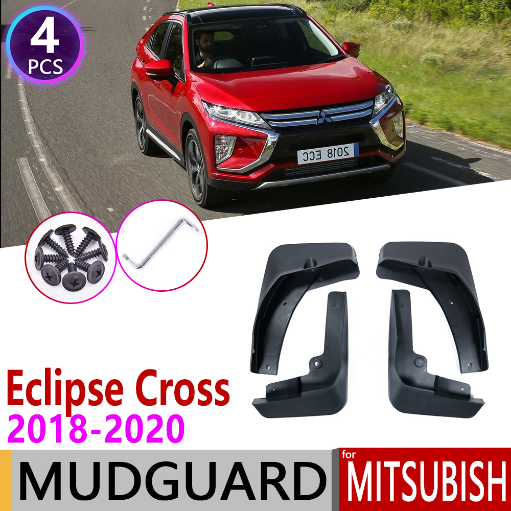 Front Rear Car Mudguards For Mitsubishi Eclipse Cross 2018 2019 2020 Mudflap Fender Mud Flaps Guard Splash Flap Accessories