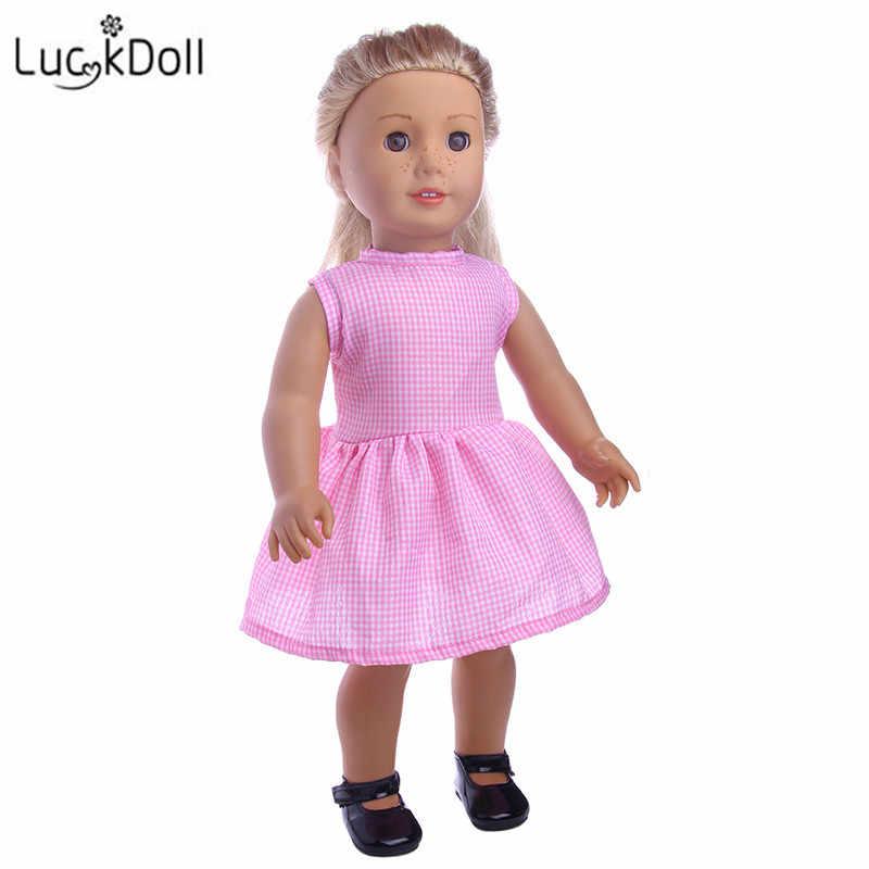 LUCKDOLL جديد دمية اللباس صالح 18 بوصة الأمريكية 43 سنتيمتر الطفل ملابس دمى الاكسسوارات ، الفتيات اللعب ، الجيل ، هدية عيد ميلاد
