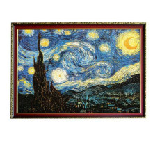 2000 Pieces Famous Starry Night Thicker Paper Puzzle Diy  Grownup puzzle 2000pcs  Christmas Gift for Children the grownup