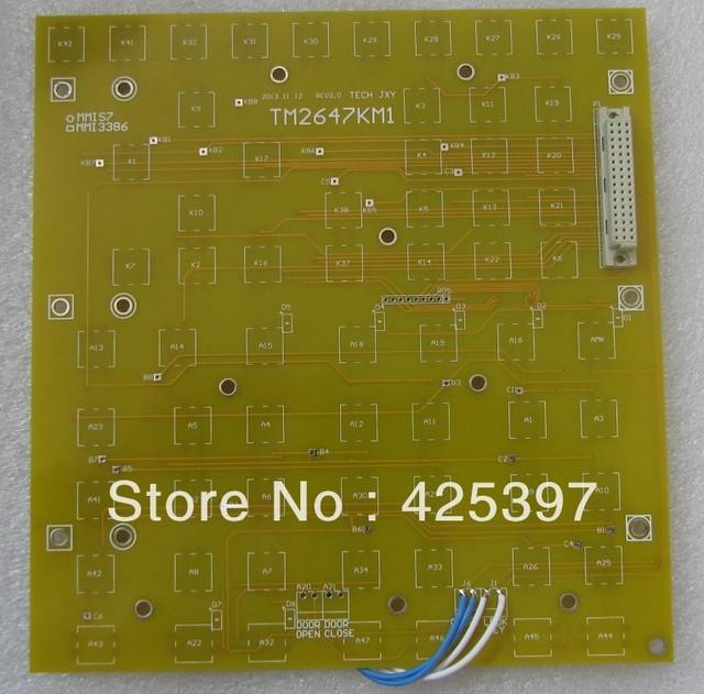 TM2647KM1 a marca novo teclado de computador Industrial