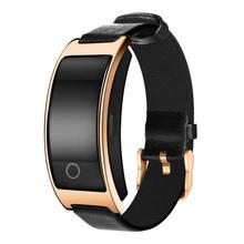 Спортивные CK11S SmartBand браслет bluetooth Активности Сна пульсометр Мониторы сердечного ритма трекер Вибрационный сигнал часы браслет