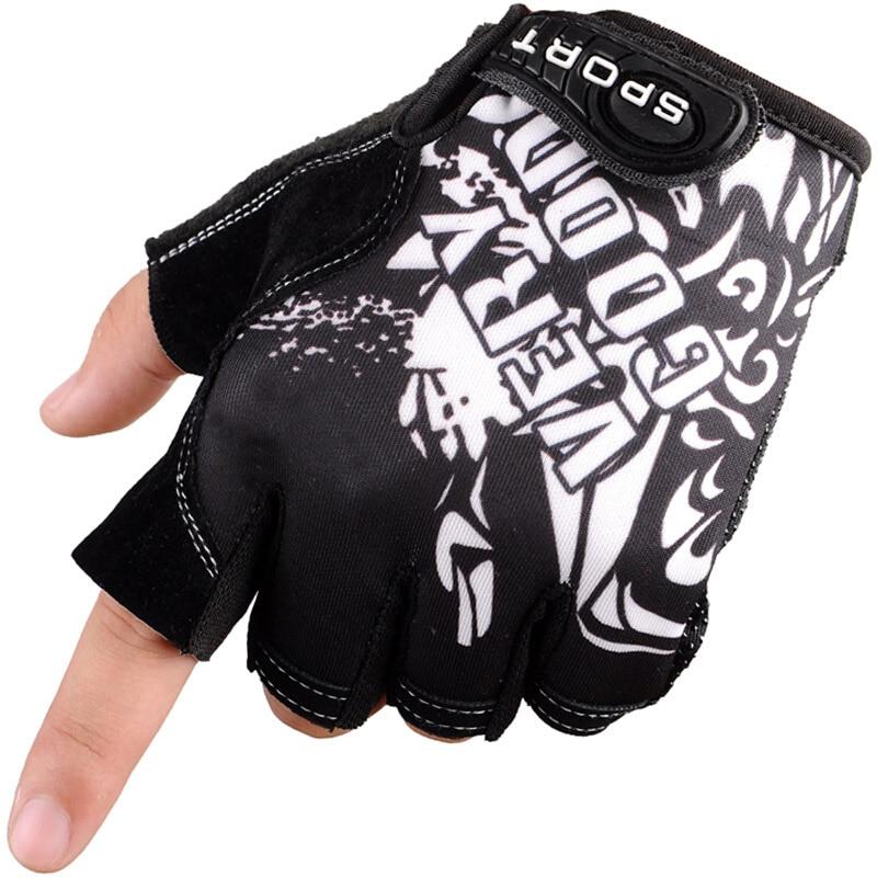 Faithful Outdoor Cycling Half Finger Glove Running Men Women Sports Anti Slip Fitness Weight Lifting Training Bike Gym Mittens Fingerless
