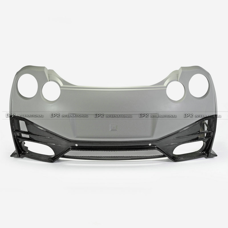 Carbon Fiber Rear Bumper with rear lip 1Pcs For CBA DBA Car styling Accessories Fit For