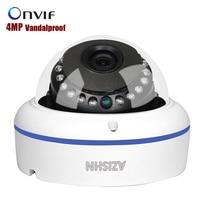 VandalProof Indoor Outdoor H 265 4MP Hi3516D 1 3 OV4689 Dome Camera 25fps IP Camera Surveillance