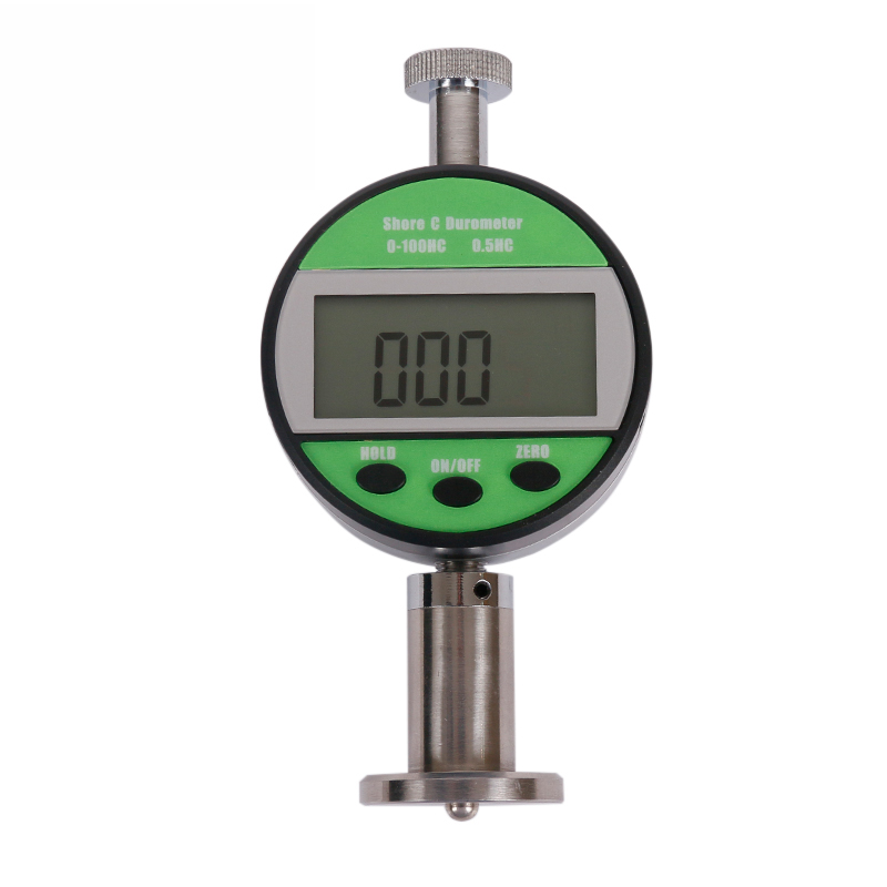 ELECALL LX-C-Y Digital Hardness meter Tester 0-100HA LCD Meter For Rubber Plastic Leather Multi-grease Wax цена