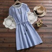 Милое платье из натуральной ткани