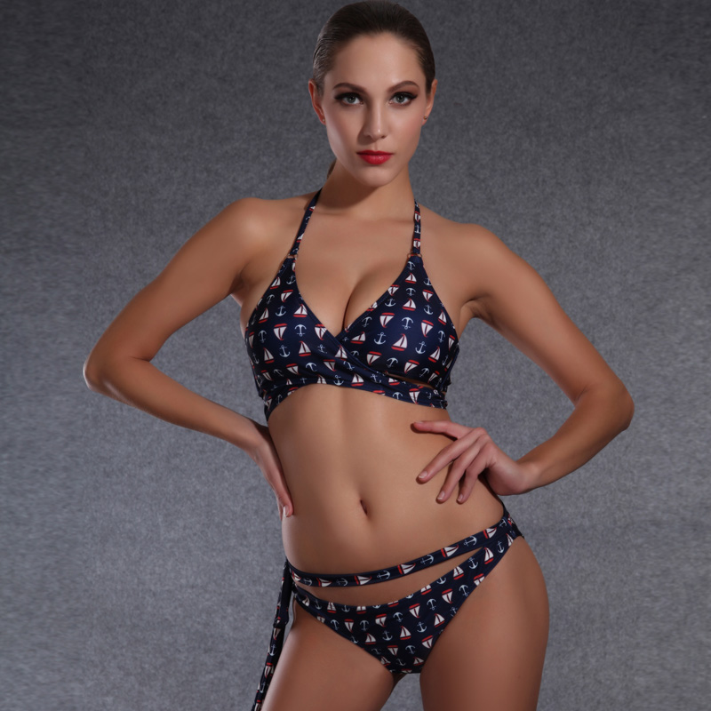 Sexy plus size plunge bademode