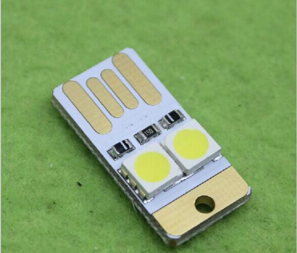 Luz De Teclado De Ordenador De 5 Piezas, Luces Mini Usb Ultra Pequeñas, Luz Lg, Luces Usb De Alimentación Móvil, Inserción De Doble Cara