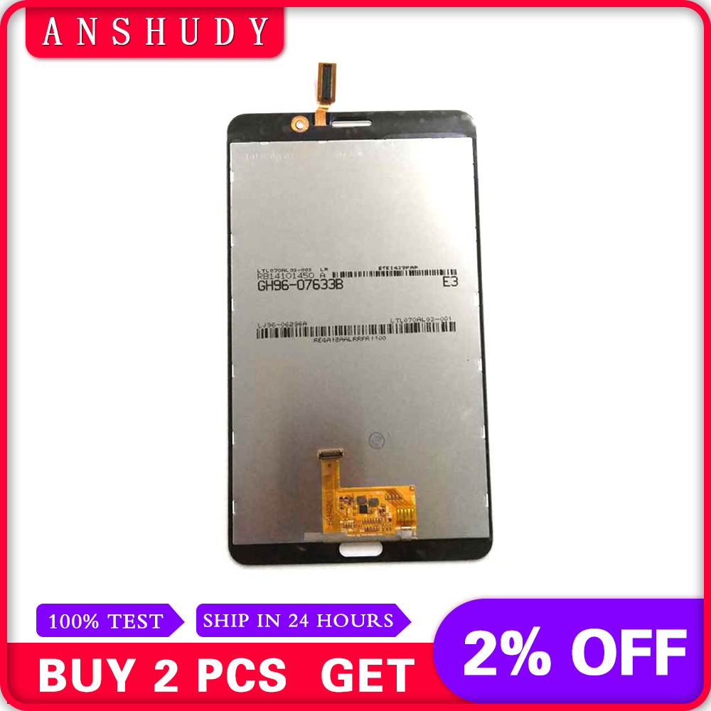 For Samsung Galaxy Tab 4 7.0 T231 SM-T231 LCD Display Panel Module + Touch Screen Digitizer Sensor AssemblyFor Samsung Galaxy Tab 4 7.0 T231 SM-T231 LCD Display Panel Module + Touch Screen Digitizer Sensor Assembly
