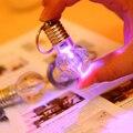Llavero bombilla LED Mini lámpara de la luz de cambio de color bombilla de colores 2015NEW nuevo especial