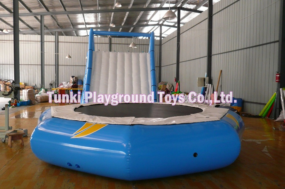 5 m diameter air trampolin bouncer