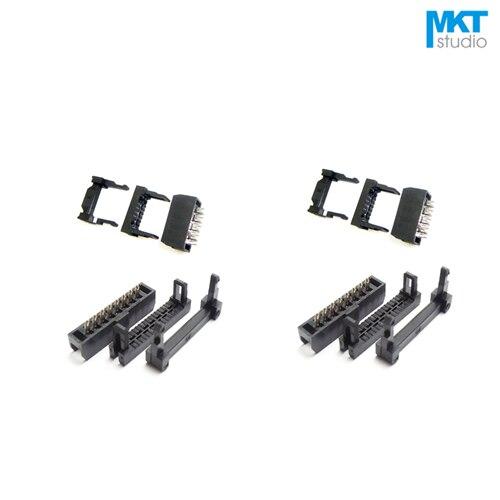100pcs 60p Female 2 0mm Pitch Fc Idc Connector Socket Isp