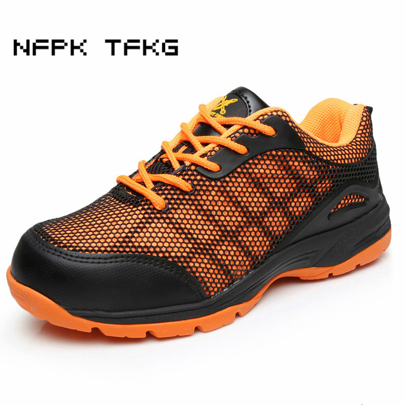 big size woman casual steel toe caps work safety summer shoes non-slip puncture proof tooling security boots comfort platform france tigergrip waterproof work safety shoes woman and man soft sole rubber kitchen sea food shop non slip chef shoes cover