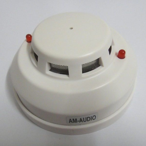 Smoke Alarm Gas Detector Audio Sound high fidelity Sensitive Monitor Microphone