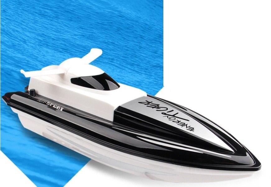 Jouets électriques extérieurs avec télécommande hors-bord RC bateau eau jeu d'été jouets pour enfants cadeau
