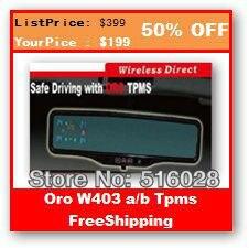 Oro tpms Wireless Tire Pressure Tpms Sensor 2013Oro Tire Pressure Tpms Battery Voltage W403 Tpms Tire Pressure Monitoring System