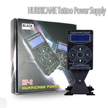 1 set Tattoo Power Supply Upgrade Tattoo Machine HP-2 Intelligent Digital LCD Makeup Dual Power Tattoo Supplies Set