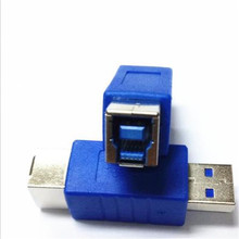 USB 3.0 converter head USB3.0 high speed B print mother * A male transfer is close to 10 times that of 2.0