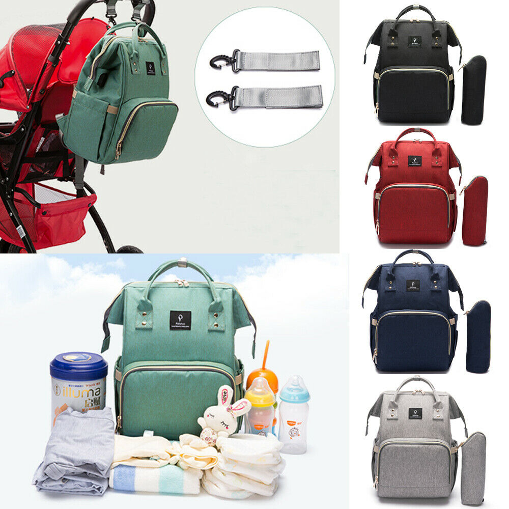 Baby Diaper Nappy Changing Mummy Large Bag Rucksack Hospital Maternity Backpack
