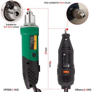 Image 2 - 30000 t/mn 480W perceuse électrique Mini graveur avec 6 vitesse Variable pour Dremel métallisation perceuse polissage 110V/220V