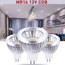 1PCS MR16 / E27 dimmable GU5.3 E14 GU10 9W 12W 15w COB AC110-220V High Power Led cob Light Bulbs Free shipping