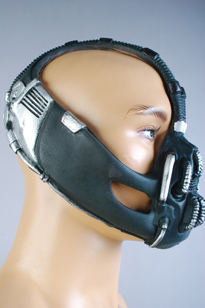 Batman: The Dark Knight Rises Bane Dorrance Mask Voksen Menn Cosplay - Kostymer - Bilde 4