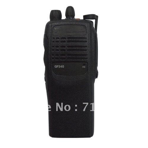 Free Shipping GP340 VHF 136-174MHz Handheld Two-way Radio 10KM Walkie Talkie 16CH High Quality Portable Ham Radio