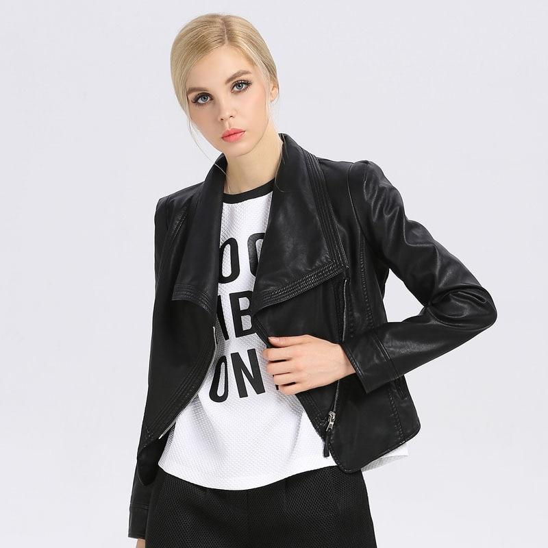 Faux Leather Coats Women Jacket Leather Jacket Women Winter Coats Female Woman Jackets Motorcycle 2018