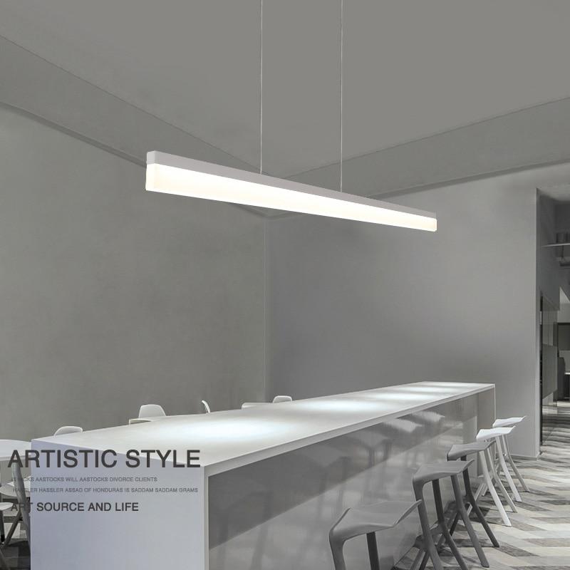 Moderne Minimalismus Büro Führte Anhänger Licht Esszimmer Hängen  Beleuchtung Hause Führte Auszusetzen Lampe Innen Leuchten In Moderne  Minimalismus Büro ...