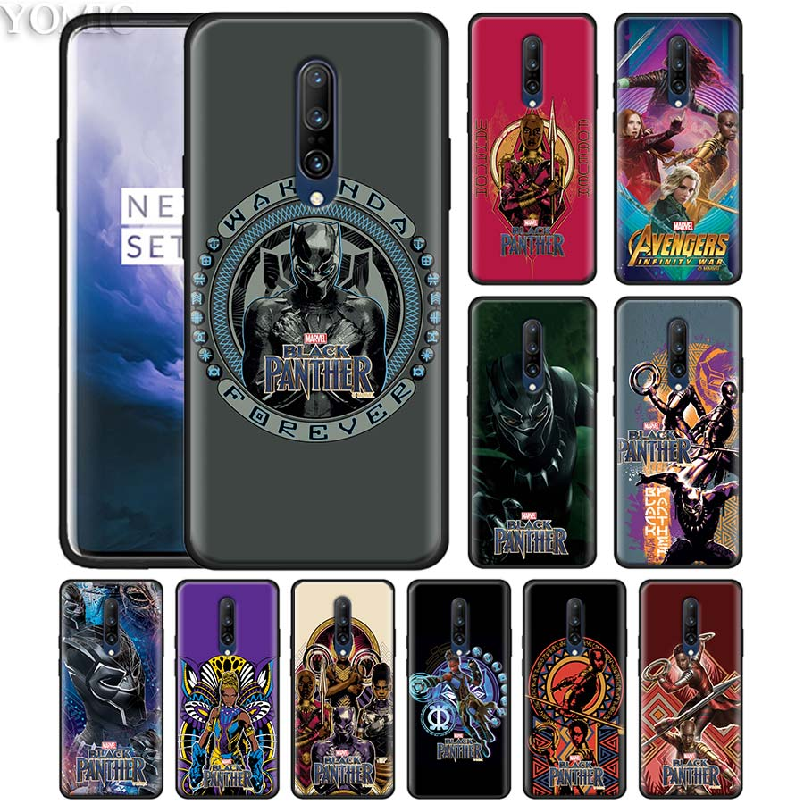 marvel black panther Phone Case for font b Oneplus b font font b 7 b font