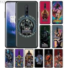 marvel black panther Phone Case for Oneplus 7 7Pro 6 6T Oneplus 7 Pro 6T Black Silicone Soft Case Cover