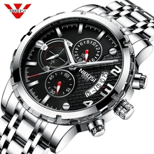 NIBOSI Man Watch 2019 Relogio Masculino Men Watch Automatic Date Quartz Watches Waterproof Wristwatch Sport Male Watch Reloje цена и фото