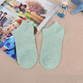 5 Pairs Candy-colored Socks For Women Female Pure Cotton Invisible Low Cut Ankle Socks Slippers Cotton Shallow Mesia 9z-wz0203
