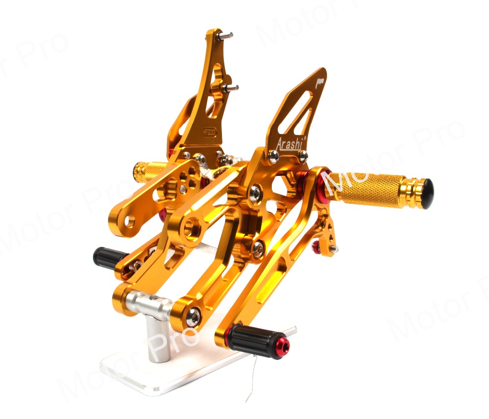 Adjustable Footrests For Honda CBR1000RR 2004 2005 2006 2007 CBR 1000 RR Foot Peg Rearset Rear Set Pedal CBR1000 CBR600RR CBR600