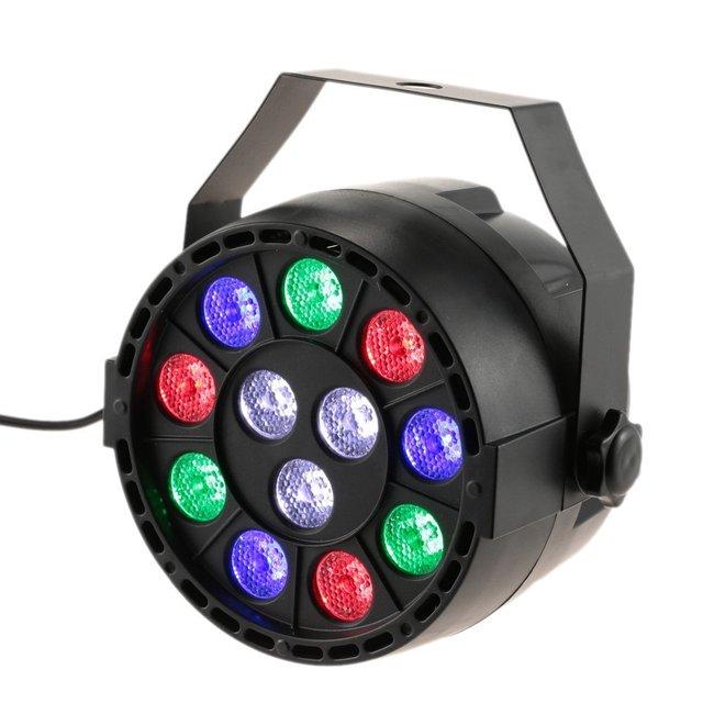 DMX-512 LED PAR Light 12LED RGBW 15W Sound Activated Stage Lighting Strobe Professional 8  sc 1 st  AliExpress.com & DMX 512 LED PAR Light 12LED RGBW 15W Sound Activated Stage ... azcodes.com