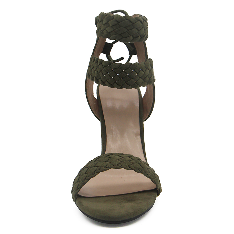 LALA IKAI Ankle Strap Sandals Women (5)