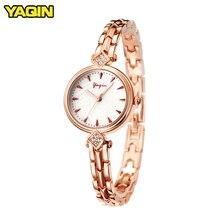 YAQIN Women Jewelry Watch Top Brand Luxury reloj mujer Ladie
