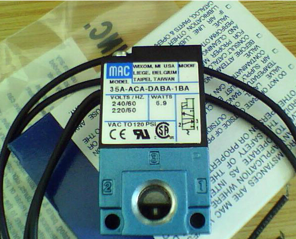 MAC  solenoid valve 35A-ACA-DABA-1BA MAC high frequency valve marking machine dispensing valve DC24V MADE IN  USA oven parts rice cooker machine assemble valve with 3v solenoid valve